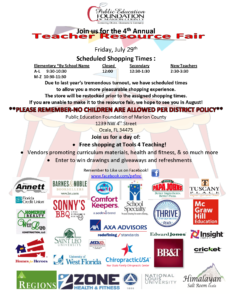 Resource Fair Flyer 2016